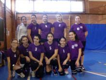 Equipo de voleibol femenino IES Parque Lineal IES Los Olmos 2004-2005