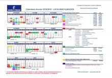 Calendario Escolar Albacete (2018/2019)
