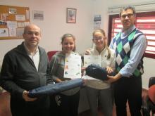 Premio Piensaeneco a Rocío Castillo y Clara Tobarra